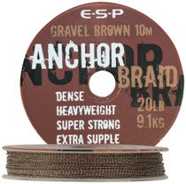 Linka Anchor Braid Gravel brązowa