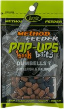 Pop-Ups Hook Baits Dumbells 7 Shellfish & Halibut
