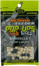 Pop-Ups Hook Baits Dumbells 7 Shrimp & Halibut