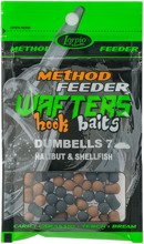 Wafters Hook Baits Dumbells 7 Halibut & Shellfish