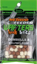 Wafters Hook Baits Dumbells 8 Shellfish & Shrimp