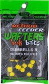Wafters Hook Baits Dumbells 8 Halibut & Pineapple